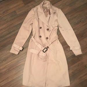 Satin Dressy Trench Coat